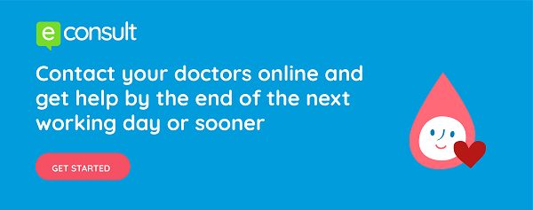 eConsult Banner: Contact Your Doctors Online